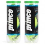 Kit com 2 tubos de bola de tênis Prince Championship