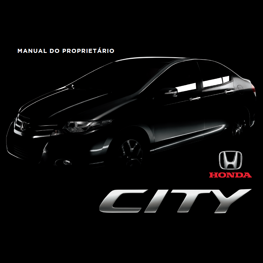 Manual do proprietário Honda City 2013 (Produto virtual)