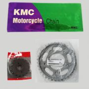 Kit Relação CB 450 16X36 / 530HX102 (VAZ + KMC)