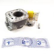 KIT Cilindro Motor + Pistão + ANEL Titan 02 / FAN 125 ATE 08 (metal Leve)