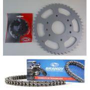 Kit Relação Duke 390 KTM 45X15 520H128 (VAZ + BRANDY)