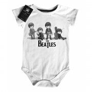 Body Bebê Rock The Beatles - White