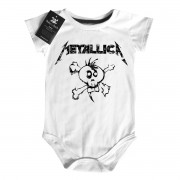 Body Bebe Metallica - White