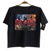 Camiseta de Rock Infantil - ACDC - Rock n Roll