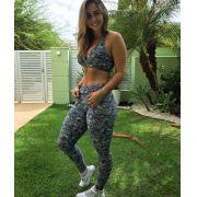 Conjunto Fitness Legging e Top Suplex Light