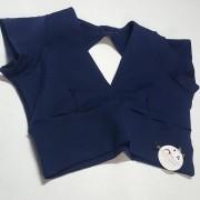 Cropped Suplex Azul Marinho