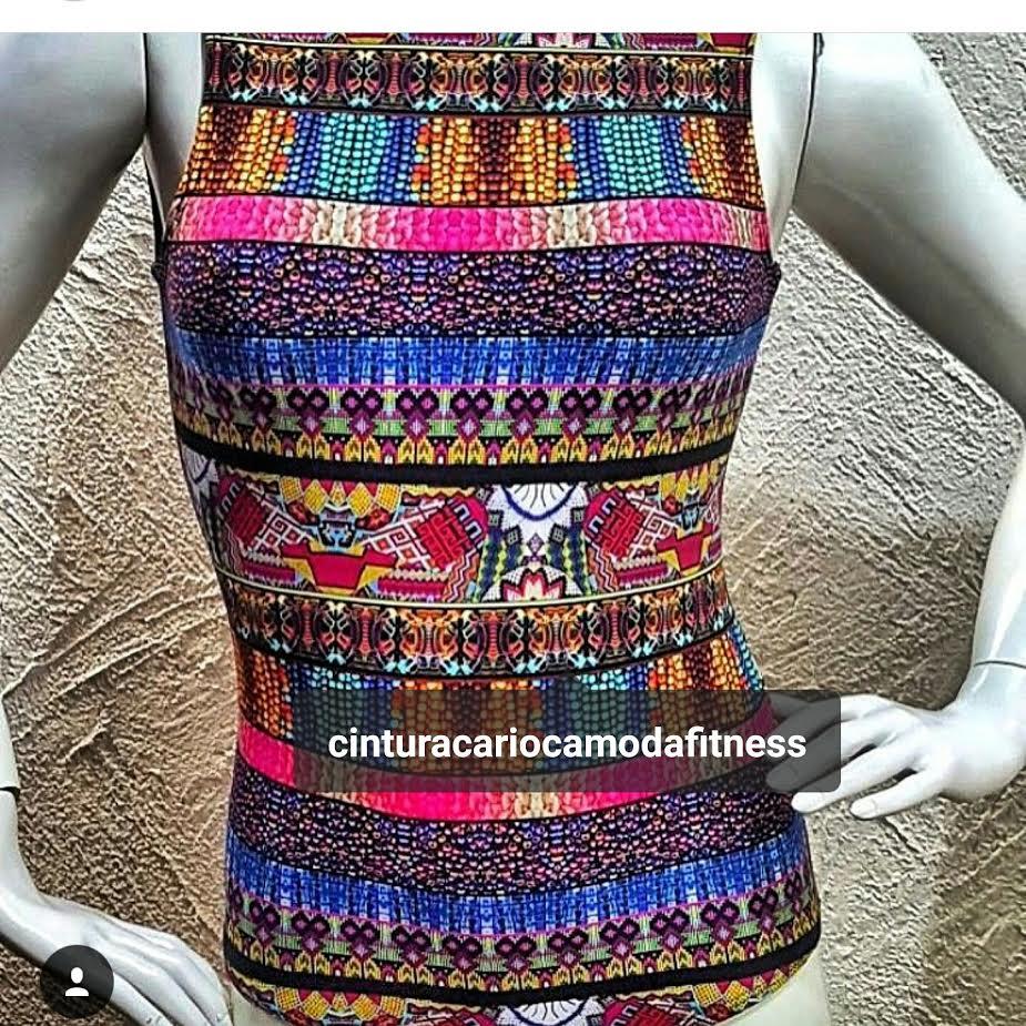 Body Miçangas  - Cintura Carioca Moda Fitness