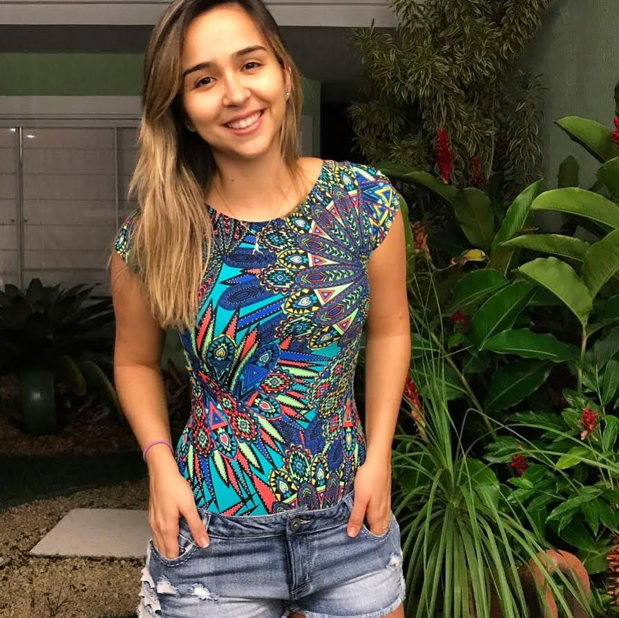 Body  Lunna  - Cintura Carioca Moda Fitness