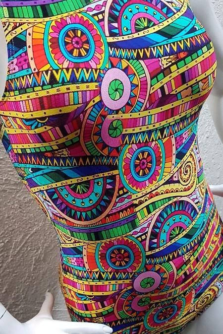 Body Arabescos P  - Cintura Carioca Moda Fitness