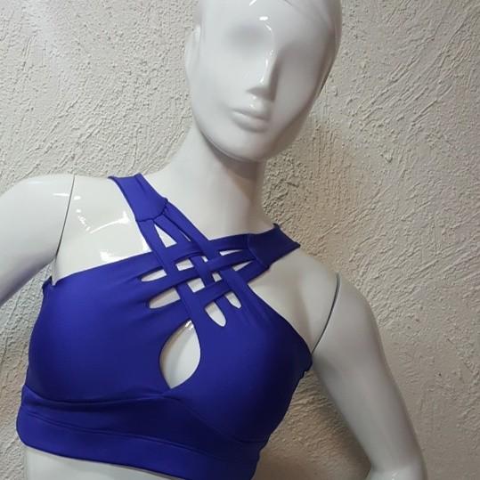 Top   Cropped Com Bojo  - Cintura Carioca Moda Fitness