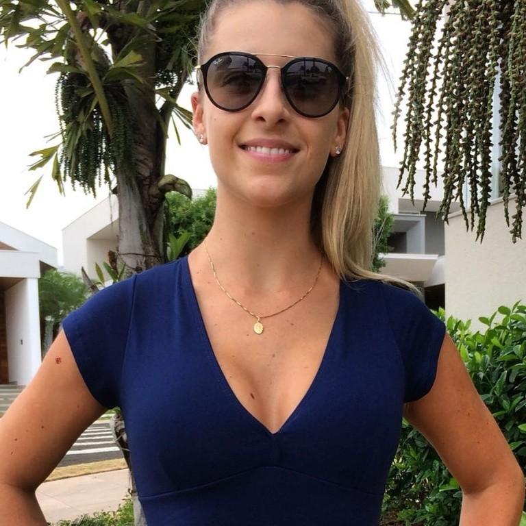 Cropped Suplex Azul Marinho  - Cintura Carioca Moda Fitness