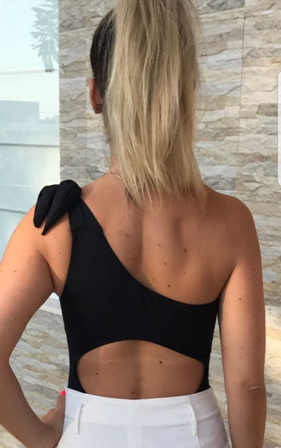 Body  Touch Preto  - Cintura Carioca Moda Fitness