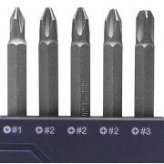 Kit de Bits Pontas Philips 5 peças - Irwin