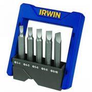 Kit de Bits Pontas Fenda 5 peças - Irwin