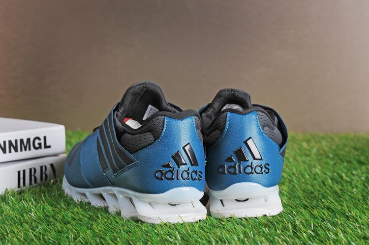 Adidas SpringBlade V - Azul e Preto