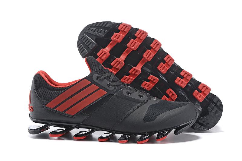 Adidas SpringBlade V – Preto e Vermelho