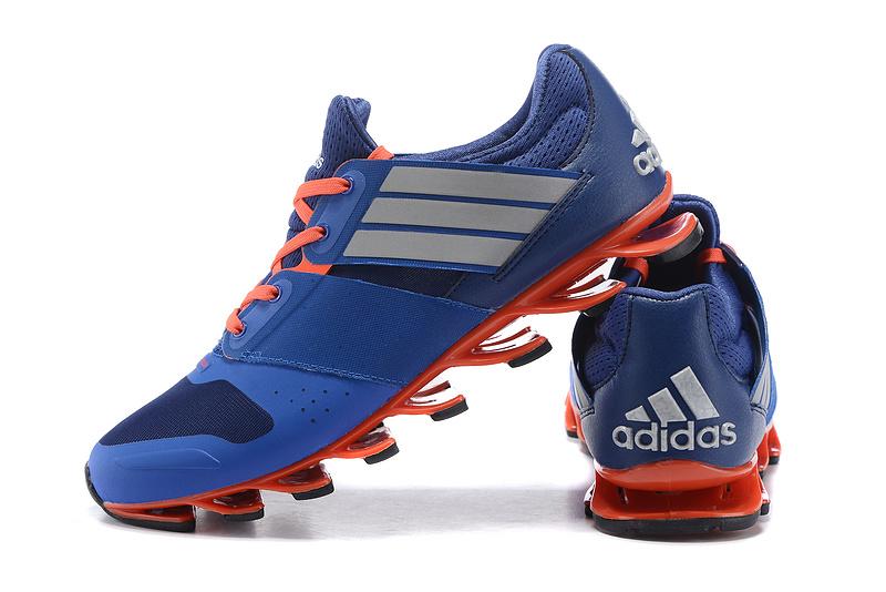 Adidas SpringBlade V – Azul,Laranja e Prata