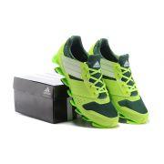 Adidas SpringBlade V – Verde e Prata