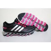 Adidas SpringBlade Razor - Preto com Detalhes Vermelho