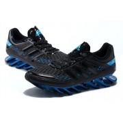 Adidas SpringBlade Razor - Preto com Azul Safira