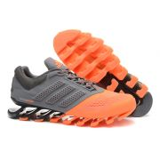 Adidas Springblade Drive 2.0 Laranja e Carvão Vegetal