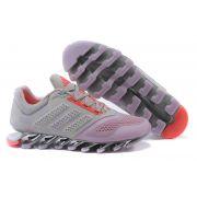 Adidas Springblade Drive 2.0 Cinza com Detalhes Laranja