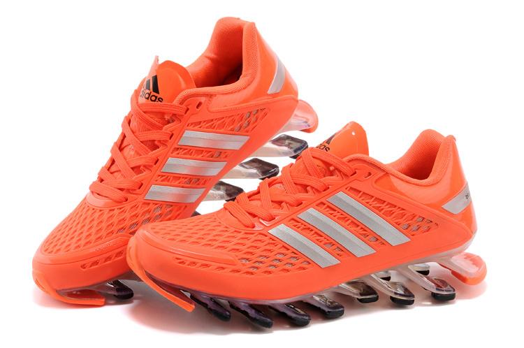 Adidas SpringBlade Razor - Laranja com Detalhes Prateado