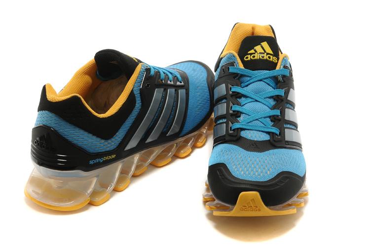 Adidas Springblade Drive Azul e Amarelo