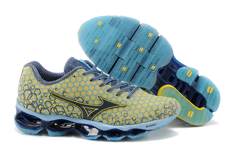 huge selection of c63bb 0d6ce Mizuno Wave Prophecy 3 Masculino Amarelo com Azul - GD IMPORTS ...