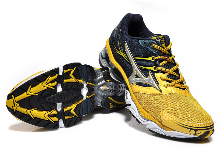 Mizuno Wave Creation 14 Amarelo e Azul
