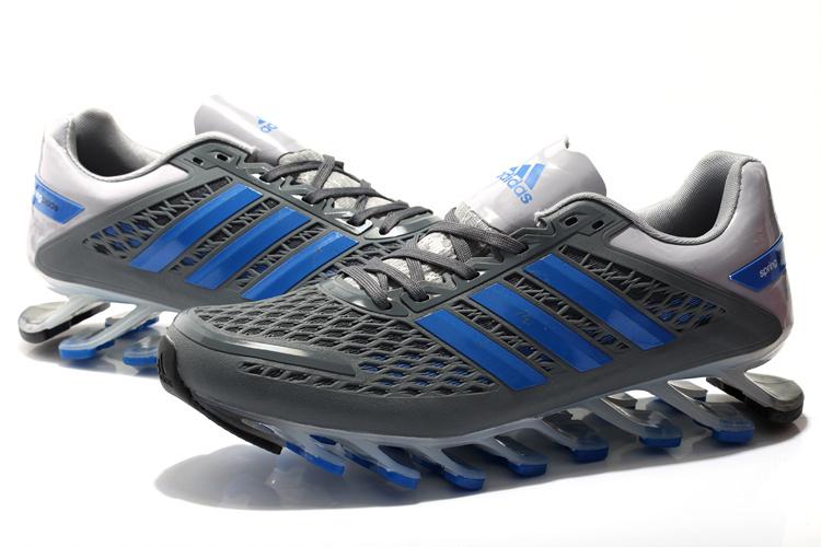 Adidas SpringBlade Razor - Cinza e azul