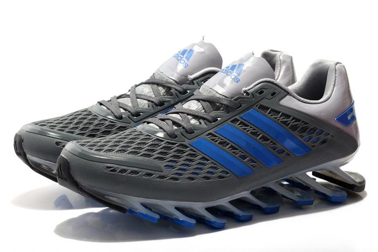 ... Adidas SpringBlade Razor - Cinza e azul - GD IMPORTS ... 473903b4101fe