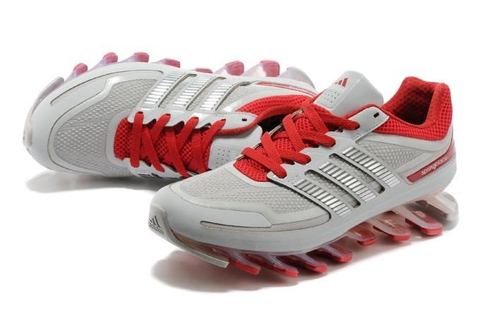 Adidas Springblade - Cinza e Vermelho - GD IMPORTS ... 2e67281a35825
