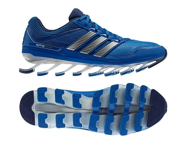 Adidas Springblade - Azul e Cinza