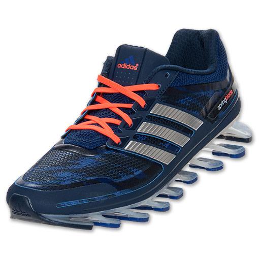 san francisco c949c 15bf5 ... Adidas Springblade - Azul e Laranja - GD IMPORTS ...