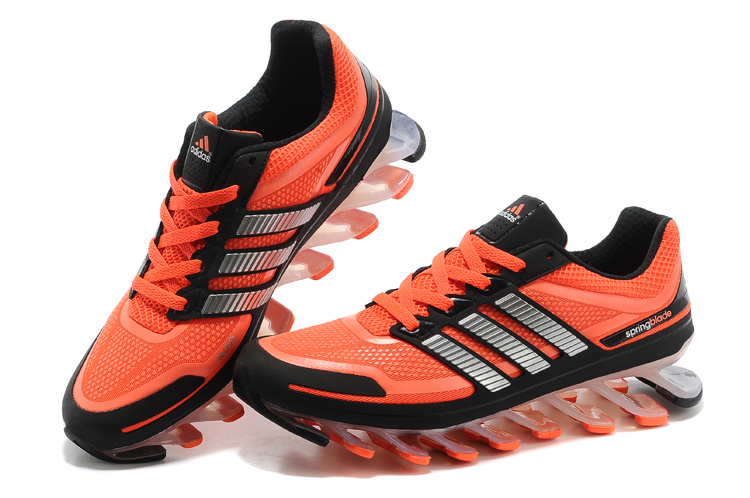 reputable site 7cc59 185be Adidas Springblade - Laranja e Preto - GD IMPORTS ...