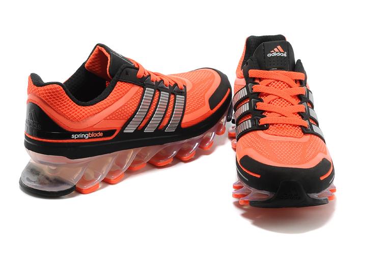 Adidas Springblade - Laranja e Preto