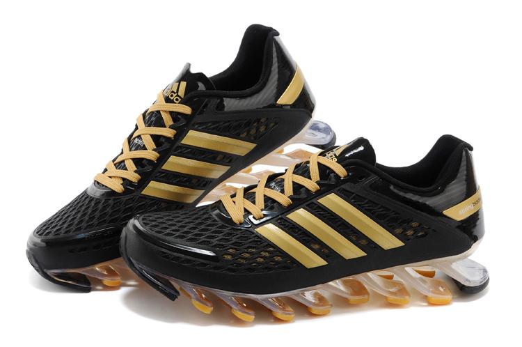 sports shoes 401ac 37a6c Adidas Springblade Razor - Preto e Dourado