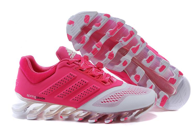 d5d5f575aed Adidas Springblade Drive 2.0 Rosa com Branco Feminino - GD IMPORTS ...