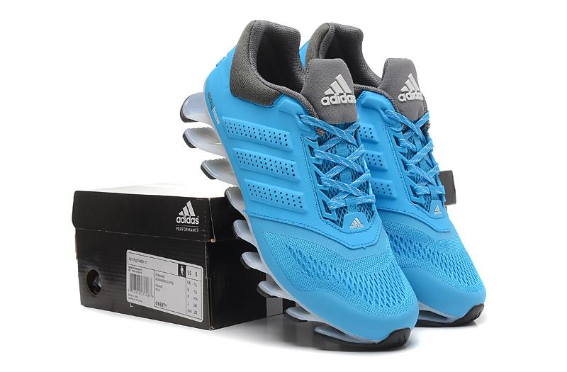 29ccdc756e4 Adidas SpringBlade Drive 2.0 Azul Claro com detalhes Preto - GD IMPORTS ...