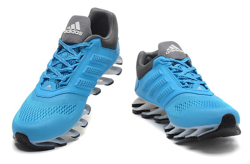 483684aaef0 ... Adidas SpringBlade Drive 2.0 Azul Claro com detalhes Preto ...