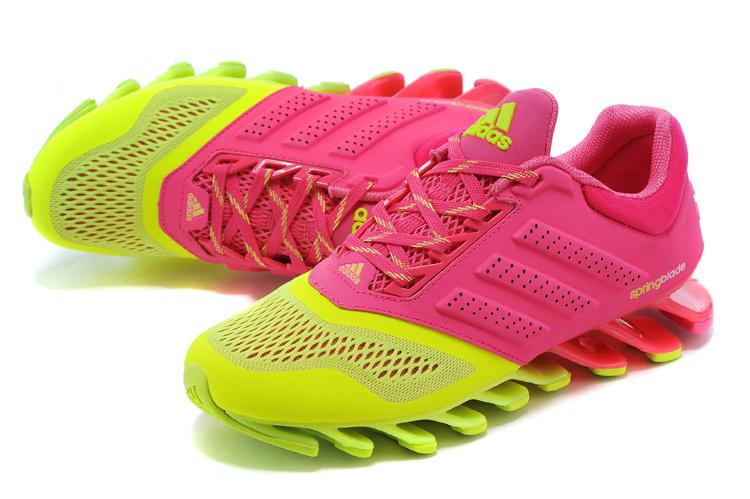 0b8e3989992 ... Adidas SpringBlade Drive 2.0 Verde e Rosa - GD IMPORTS ...