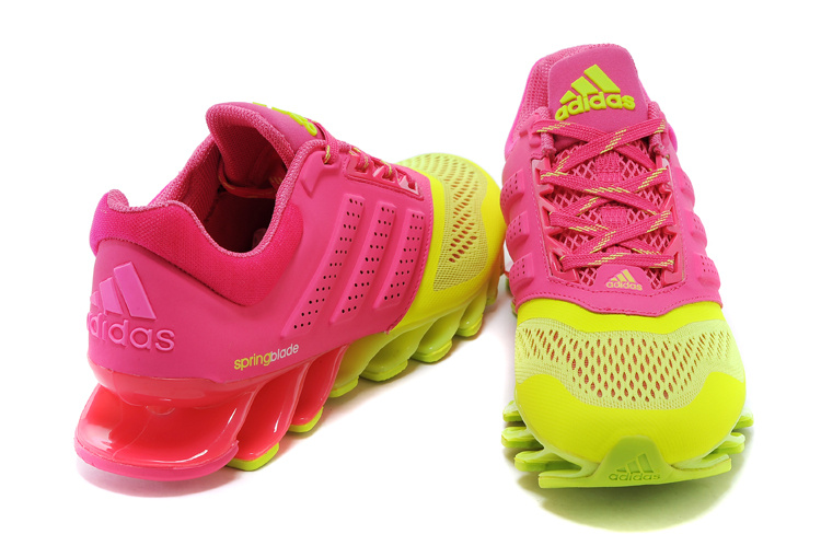 best sneakers bc5eb 0e449 ... Adidas SpringBlade Drive 2.0 Verde e Rosa - GD IMPORTS ...