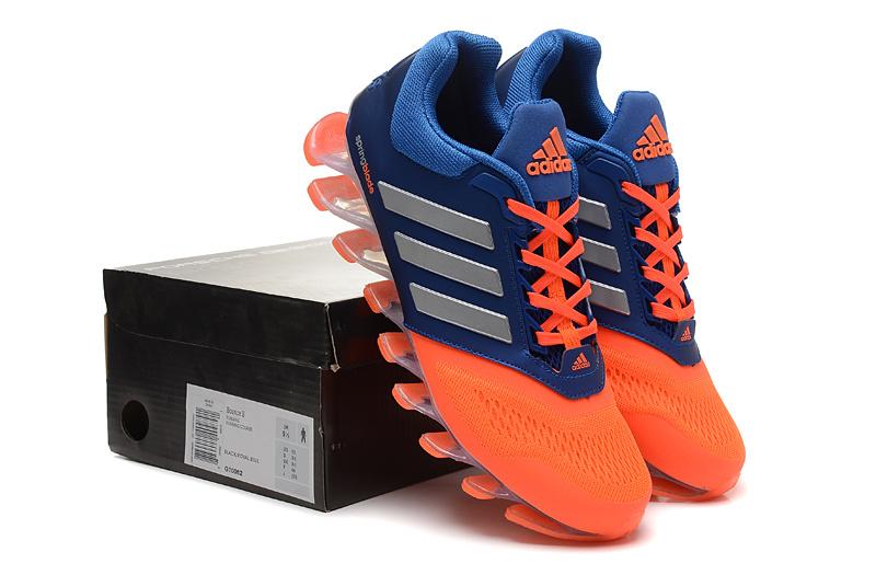 best authentic 8b6fb c99c7 Adidas Springblade Drive 2.0 Laranja Prata e azul - GD IMPORTS ...