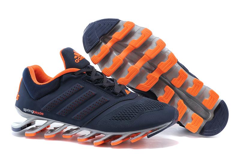 Adidas Springblade Drive 2.0 Laranja e Azul