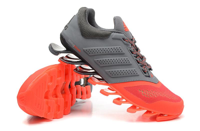 Adidas Springblade Drive 2.0 Carbono Cinza e Laranja