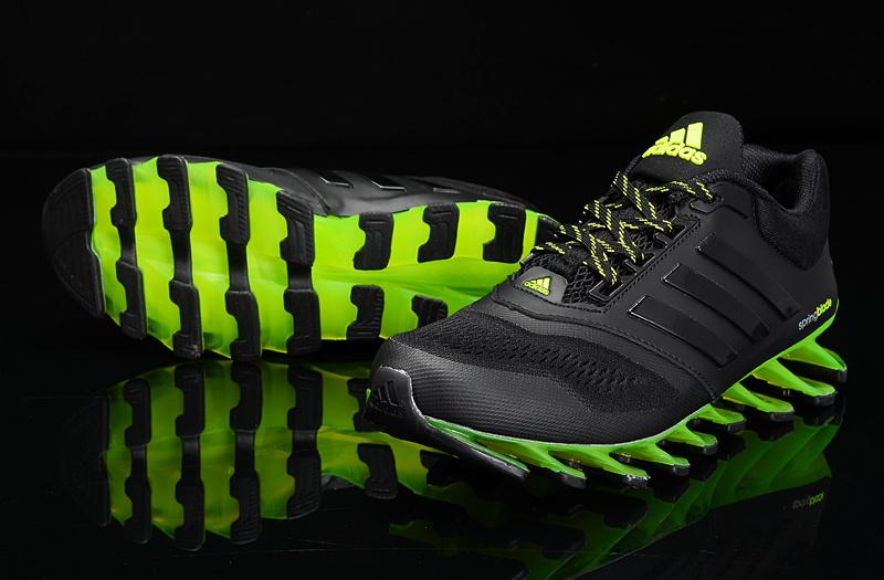 adidas springblade drive 2 preto e verde