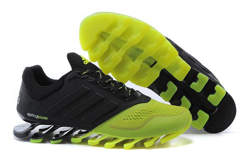 21e61fe278d Adidas Springblade Drive 2.0 Preto e Verde Limão - GD IMPORTS ...