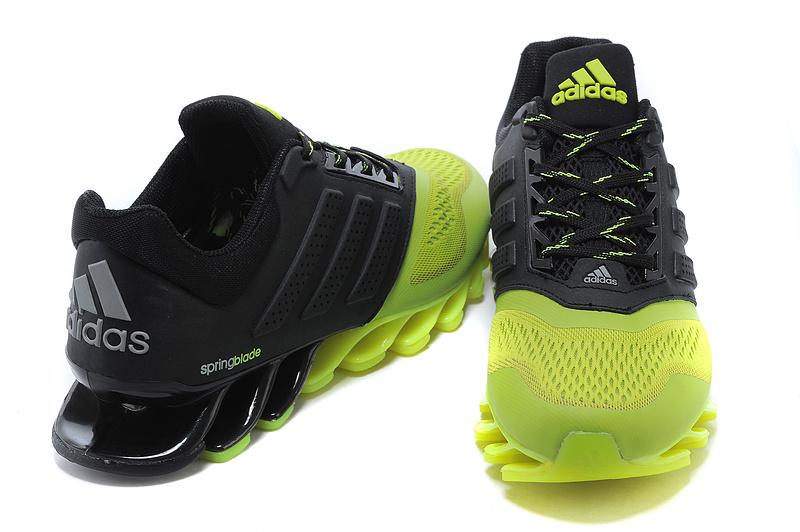 Adidas Springblade Drive 2.0 Preto e Verde Limão
