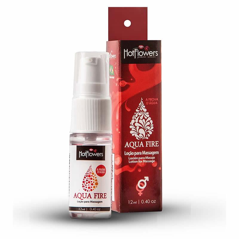 Aqua Fire Lo��o Lubrificante para massagem a Prova D �gua - HFHC445